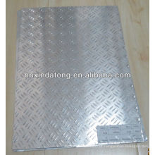 placa de alumínio em relevo para barras anti-derrapantes 3