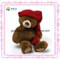 Cute Teddy Bear Soft Christmas Toy (XDT-0036Q)