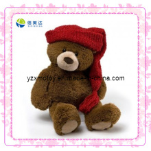 Cute Teddy Bear Soft Christmas Toy (XDT-0036Q)