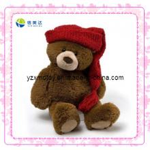 Urso de pelúcia bonito brinquedo macio do Natal (XDT-0036Q)