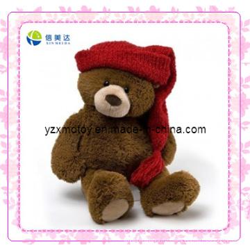 Симпатичный плюшевый медвежонок Мягкие рождественские игрушки (XDT-0036Q)
