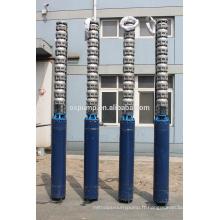 pompe à eau submersible à plusieurs étages Pompe submersible électrique en acier inoxydable