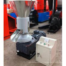 Pressage à froid de granulatoire de particules de biomasse de paille de paddy de moule pressant