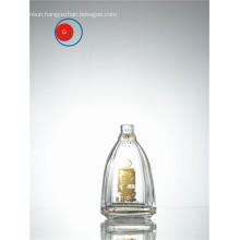 Chinese Liquor Glass Bottle with Round Shape