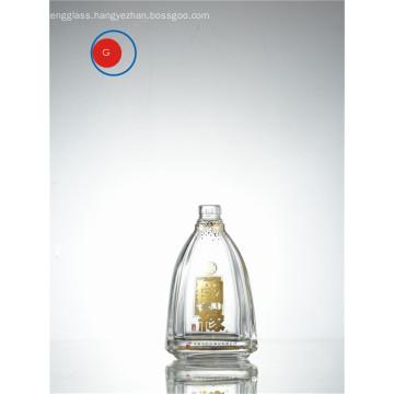 Chinese Liquor Glass Bottle with Round Shape