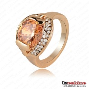 Fashion Accessories, Women 18k Gold Ring, Costume Jewelry (Ri-HQ0229)
