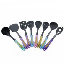 8pcs Nylon Kitchen utensil set with PP handle