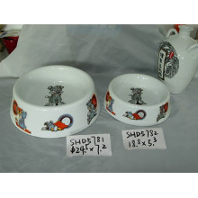 Bols de chien en céramique (CY-P5781)