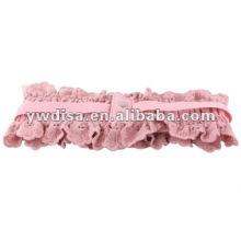 Ceinture abdominale élastique rose