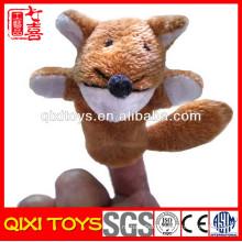 animal peru finger puppet toy fox finger puppet