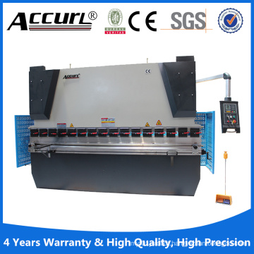 CE Safety Simens Hydraulic Press Brake Machine MB8 Series with 3 Axis