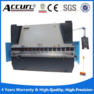 Wc67y-400/6000 máquina de freio hidráulico da imprensa do CNC