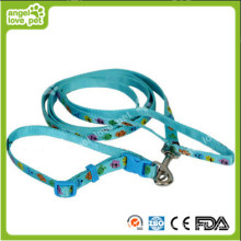 Carton Animal Head Pet Collar and Leash
