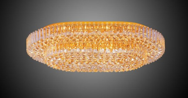 Decoration crystal light fixture