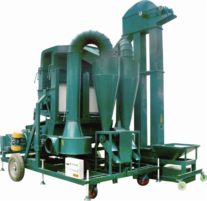 Seed cleaner and sorter machine