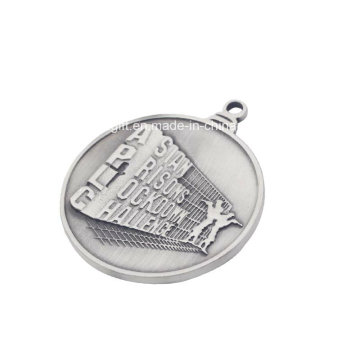 Silvery Metal Medal for Advertisement