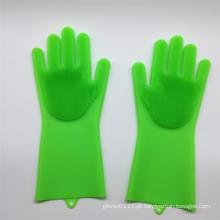 Luvas de esponja de limpeza para lavar louça