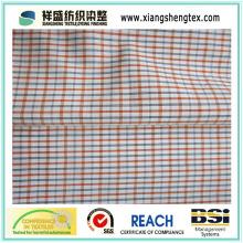 Tissu T / C Tissu Filet 45s avec Check