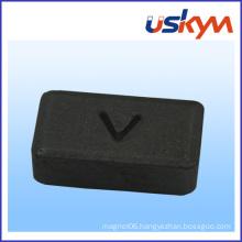Custom Shape Block Ferrite Magnet Ceramic Magnet