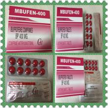 Antirreumática de comprimidos de ibuprofeno