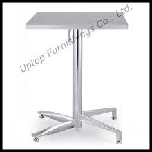 Table de bistrot en acier inoxydable pliante en plein air (SP-MT020)
