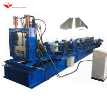 Automtaic-change 80-300mm steel structurt CZ purlin roll forming machine made in china
