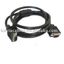 15Pin SVGA VGA Extension Cable M/M Male To Male For PC Projector