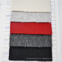 2017 último diseño de lana de alpaca tela para hombres y mujeres abrigo
