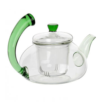 Best quality Low price for Glass Tea Cups 600ml New Design Glass Teapot Tea Kettle export to Qatar Suppliers