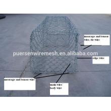 Gabion wire mesh rock basket wire mesh gabion mesh