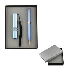 Promotion Torch and pen set in gift box