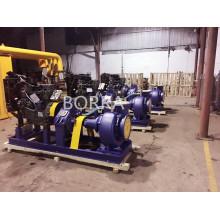 Bomba de agua motor diesel gran caudal aguas residuales