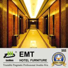 Painéis de parede de madeira de luxo do hotel decorativo (EMT-F1208)