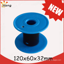 120mm empty plastic spool for wire rope