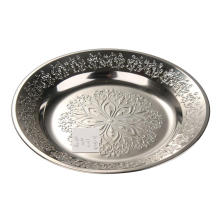 Stainless Steel Dinner Plate with Cheap Price
