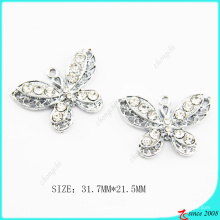 Cristales transparentes Metal Jewelry Charm Jewelry Making (MPE)