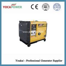 EPA Emission Standard 5.5kw Портативный бесшумный генератор