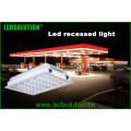 IP66 LED de luz empotrada para iluminación de la gasolinera