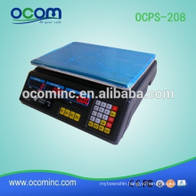 OCPS-208 Cheap Digital pricing computing scale up to 40KG