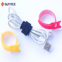 Customized Hook and Loop Cable Tie for Heavy Duty