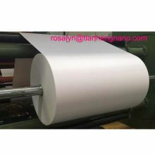 Película de PVC rígida laminada blanca para película de techo en relieve