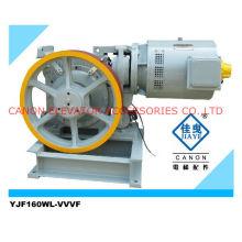 Máquina de Motor de la tracción del elevador YJF160WL VVVF