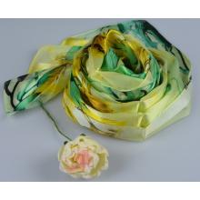100% Seide Streifen Schal Fashion Silk Square Schal 150060100802-3