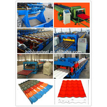 algeria roof step tile roll forming machine