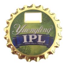 10 см диаметр холодильник Магнит Пользовательские пива бутылку открывалка