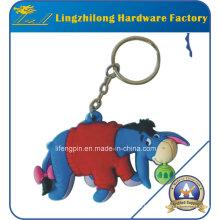 PVC-Esel-Entwurfs-Tier Keychain