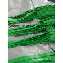 Green/Silver PE Tarpaulin Cover