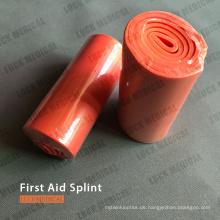 Erste Hilfe Schiene für gebrochene Arme