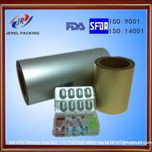 Aluminium stratifié pharmaceutique d'Alu Alu de Ny / Alu / PVC