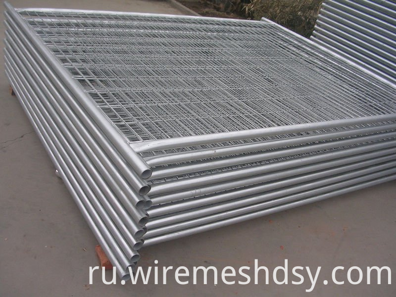 Galvanized Temporary Movable Fence